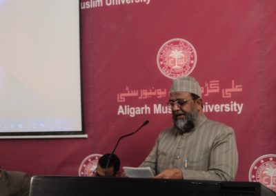 Maulana Zaheer Siddiqui at Bridge Course
