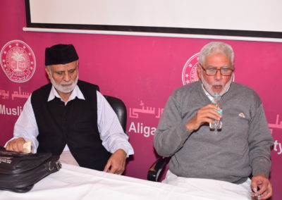 Dr. Saleem Khan and Alim Naqvi Sb at Bridge Course